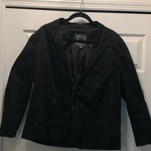 Old navy black suit jacket blazer